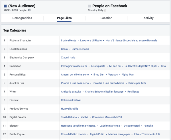 Buyer Personas e Facebook Audience Insight 4