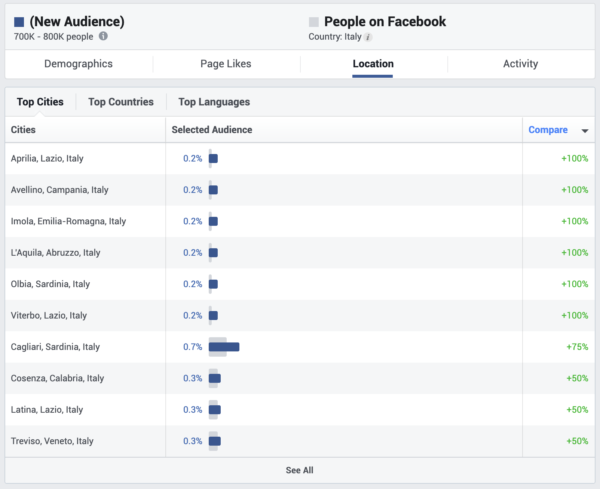 Buyer Personas e Facebook Audience Insight 5